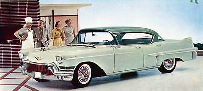 1957 Cadillac Sedan DeVille Factory Photo J1463