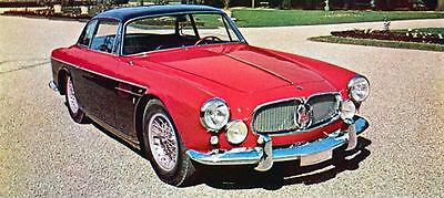 1957 Maserati A6G Allemano Berlina Factory Photo J1581