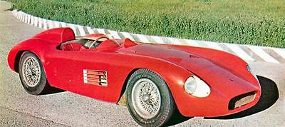 1957 Maserati 300S Race Car Factory Photo J1582