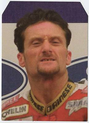 Scarce Trade Card of Carl Fogarty, Superbikes 1997
