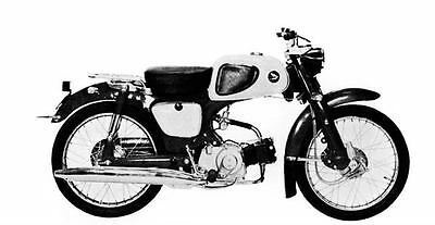 1961 Honda 50 C111 Moped Factory Photo J2023