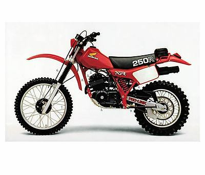 1982 Honda 250 XR250R Factory Photo m2972