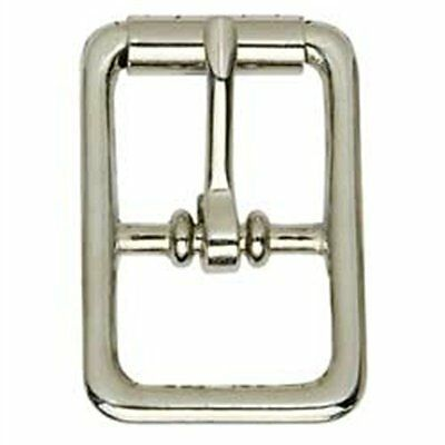 "Center Bar Nickel Roller Buckle 1/2"" 1509-10 by Tandy Leather"