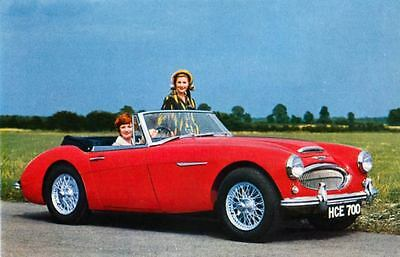 1963 Austin Healey 3000 Mark II Factory Photo J2342