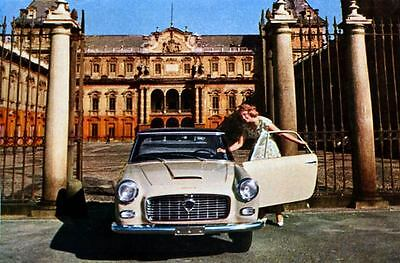 1957 Lancia Flaminia Pininfarina Factory Photo J2499