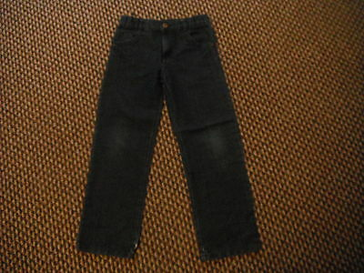 "Cherokee Straight Jeans W23"" L22"" Faded Dark Blue Boys 7/8 Yrs Jeans"