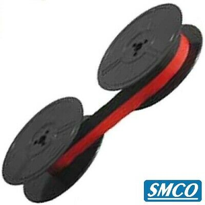 Smco Typewriter Ribbon For Olympia Traveller C Deluxe Deluxe S Black Red