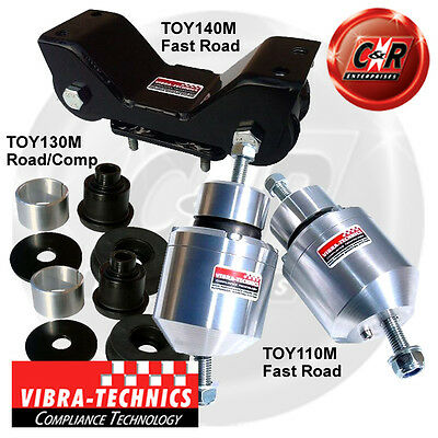 Toyota Supra JZA80 6spd manual V160 Trans (93-95) Vibra Technics Full Road Kit