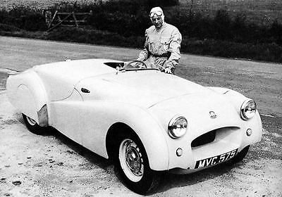 1952 Triumph TR2 Record Car Photo J348