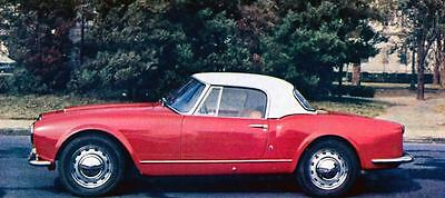 1958 Lancia Aurelia GT2500 Convertible Factory Photo J679
