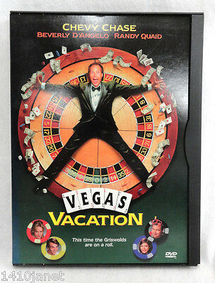 Vegas Vacation DVD Warner Brothers Chevy Chase Comedy 1997 Full Screen