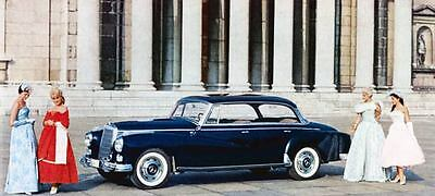 1958 Mercedes Benz 300 Automatic Limo Factory Photo J694