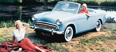 1958 Hillman Minx Convertible Factory Photo J760