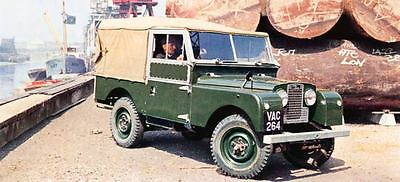 1958 Land Rover 109 Factory Photo J773