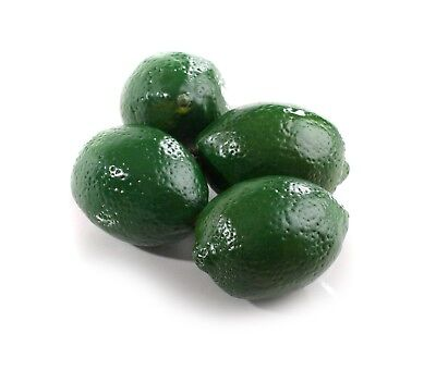 3 Large Best Artificial Limes Decorative Realistic Fruit New