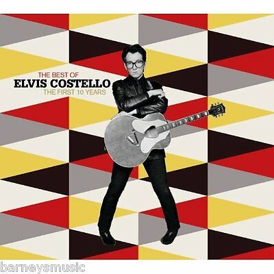 Elvis Costello ( New Sealed Cd ) Very Best Of The First 10 Years / Greatest Hits