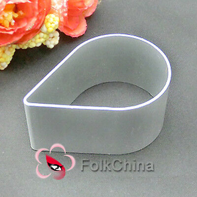 TearDrop Shape Metal Fondant Cake Biscuit Chocolate Plunger Cutter Mould M-F34
