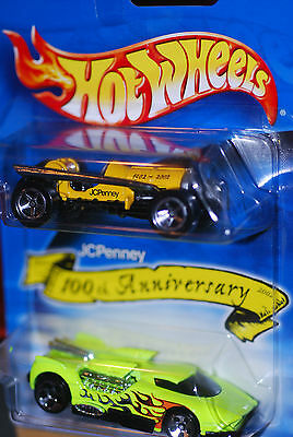 2002 Hot Wheels JC Penney 100th Anniversary Old #3 and Maelstrom 2 pack Limited