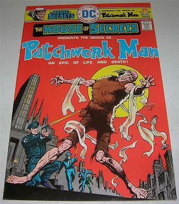 HOUSE OF SECRETS #140 (DC Comics 1976) 1st solo origin PATCHWORK MAN (VF-)