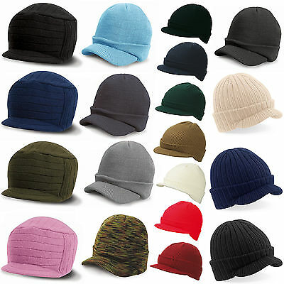 Bf re Visor Beanie Peaked Cap Hat Beanies Unisex Women's Men's Long Slouch