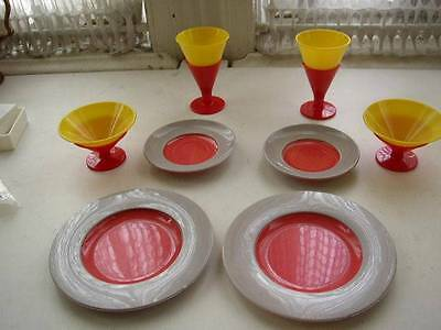 Vintage, Banner, USA 8-pc Childs Tea Set