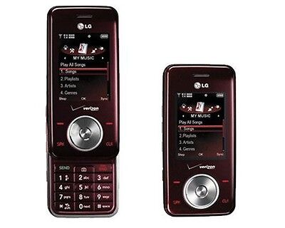 Verizon LG VX8550 Red Mock Dummy Display Toy Cell Phone