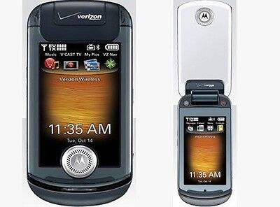 Verizon Motorola KRAVE ZN4 Black Mock Dummy Display Toy Cell Phone