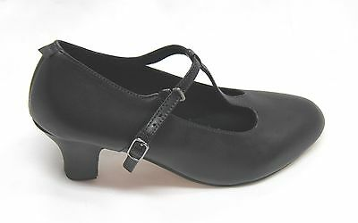 Chorus heel with T strap chararcter shoes  Adult size 6 - size 10