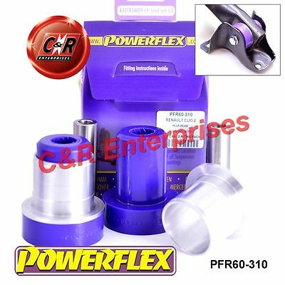Renault Clio II (inc 172 & 182) Powerflex Rear Beam Mounting Bushes PFR60-310
