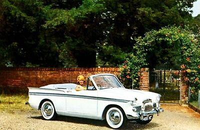 1963 Sunbeam Rapier Series 3 Convertible Factory Photo J2618