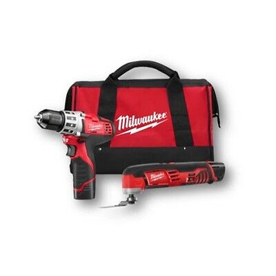 Milwaukee 2495-22 M12™ 2 - Tool Combo Kit with Drill  Multi-Tool