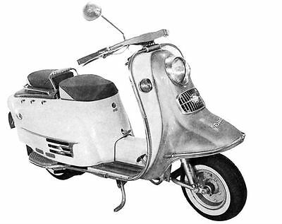 1965 Fuji Rabbit Superflow S601 Scooter Factory Photo J2933