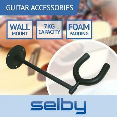 Selby Wall Mount Guitar Holder Hanger Hook Bracket Display (Factory Seconds)