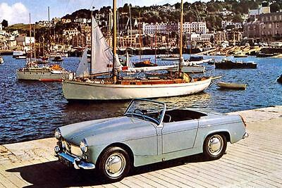 1964 MG Midget Factory Photo J3207