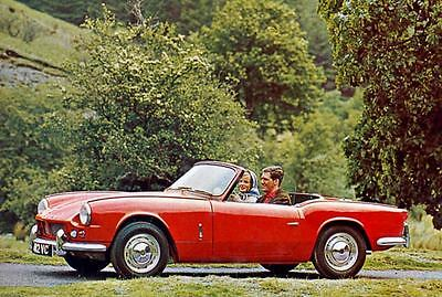 1964 Triumph Michelotti Spitfire Factory Photo J3307