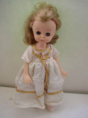 Vintage, Symbol of Quality,  8in Doll in White Dress