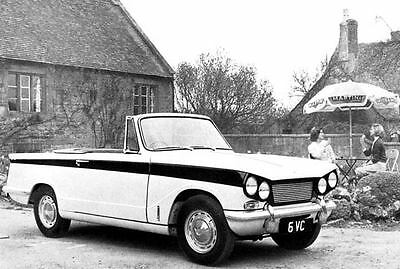 1964 Triumph Michelotti Vitesse Factory Photo J3315