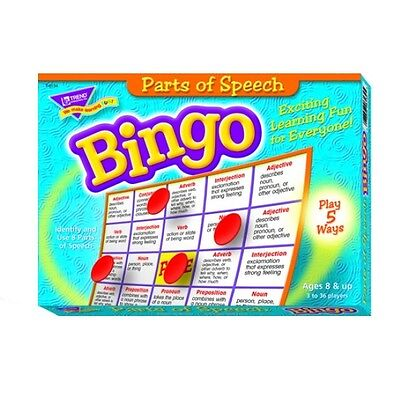Parts of Speech Bingo Game Language Arts Ages 9+ 8 Ways to Play!