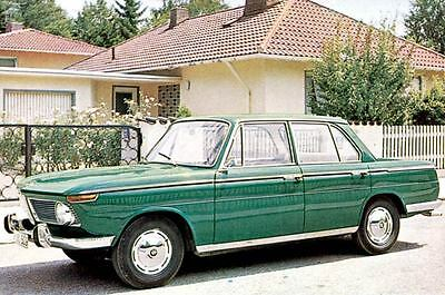 1965 BMW 1800 Factory Photo J3408