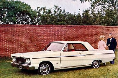 1965 Ford Fairlane 500 Coupe Factory Photo J3527