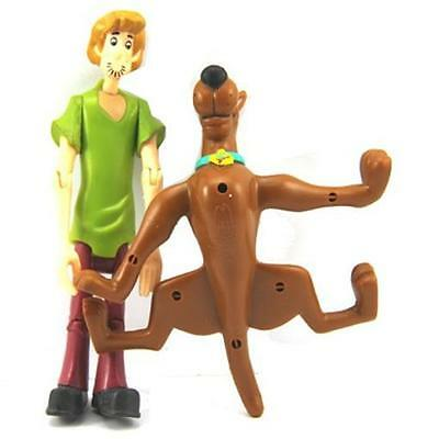 Free Ship 5'' Scooby Doo Shaggy & Dog Figures L614