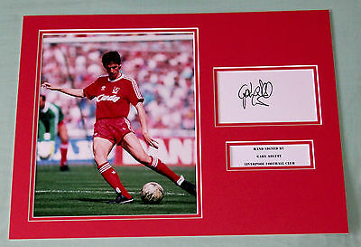Gary Ablett Liverpool Hand Signed Autograph Photo Mount