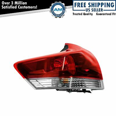 Taillamp Taillight Outer Brake Light LH Left Driver Side for 13 Toyota Venza