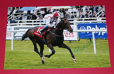 Hayley Turner Hand Signed 12X8 Autograph Photo Horse Racing