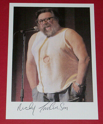 Ricky Tomlinson Hand Signed Autograph Photo The Royale Family