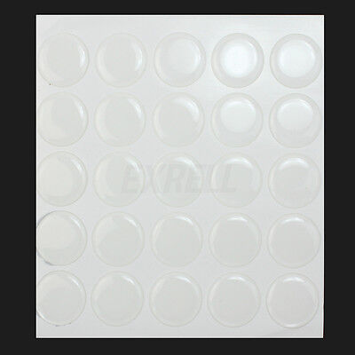 100 Premium Clear 26mm 3-D Epoxy Dome Bottle Cap Seals Stickers 2mm Thick New