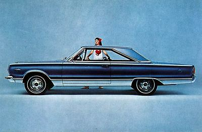 1967 Plymouth Belvedere Satellite Hardtop Factory Photo J4227