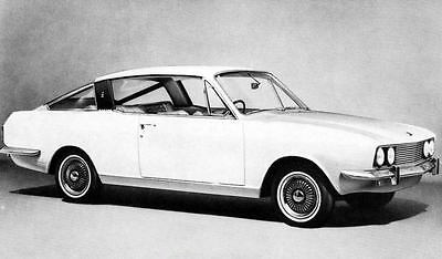 1969 Sunbeam Rapier Factory Photo J4270