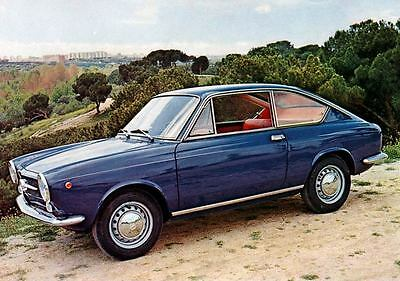 1969 Seat Fiat 850 Coupe Factory Photo J4342