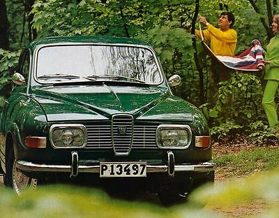 1969 Saab V4 Factory Photo J4334